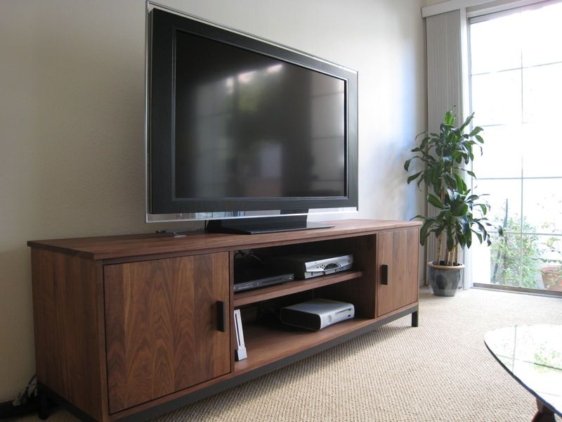 Enclosed Tv Cabinets For Flat Screens With Doors Inside Well Known Innovative Enclosed Tv Cabinets For Flat Screens Design: Modern (Gallery 5 of 20)