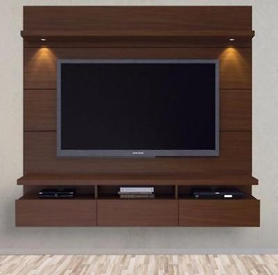 Entertainment Center Modern Tv Stand Media Console Wall Mounted Inside Famous Modern Tv Stands With Mount (Gallery 9 of 20)