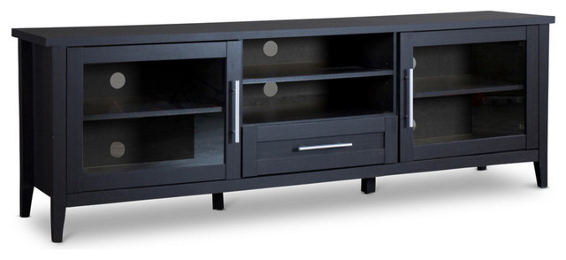 Espresso Tv Stand – Transitional – Entertainment Centers And Tv With Regard To Best And Newest Expresso Tv Stands (View 3 of 20)