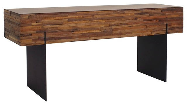 Ethan Console Table – Industrial – Console Tables Seldens Furniture In Well Known Ethan Console Tables (View 2 of 20)