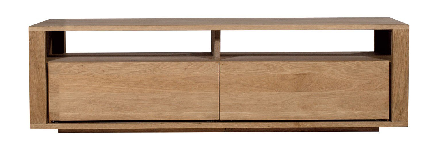 Ethnicraft Shadow Oak Tv Unit (Gallery 12 of 20)