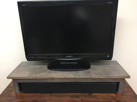 Etsy Regarding Well Known Tv Riser Stand (View 6 of 20)