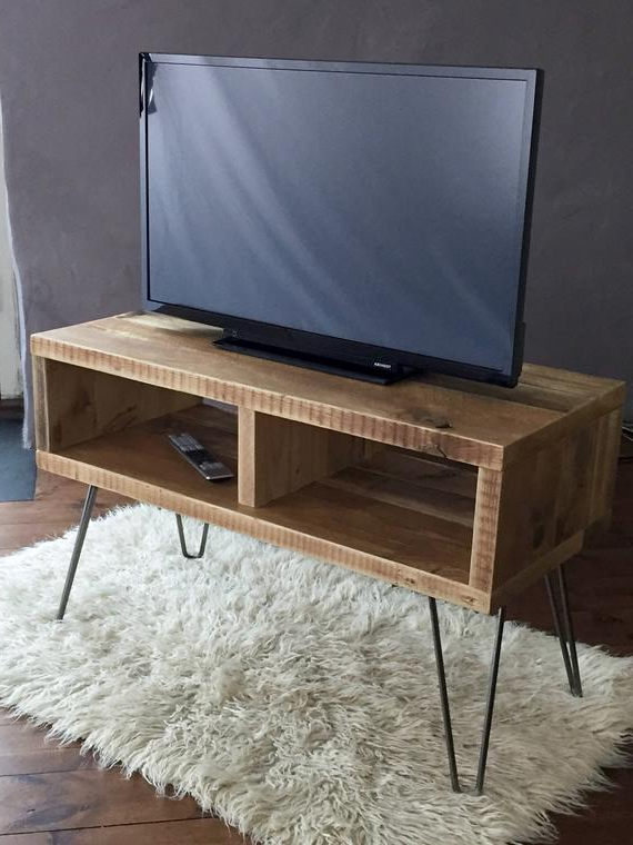 Etsy With Regard To Most Popular Hairpin Leg Tv Stands (Gallery 9 of 20)
