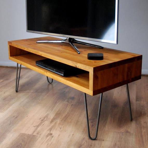 Etsy Within Favorite Hairpin Leg Tv Stands (Gallery 5 of 20)