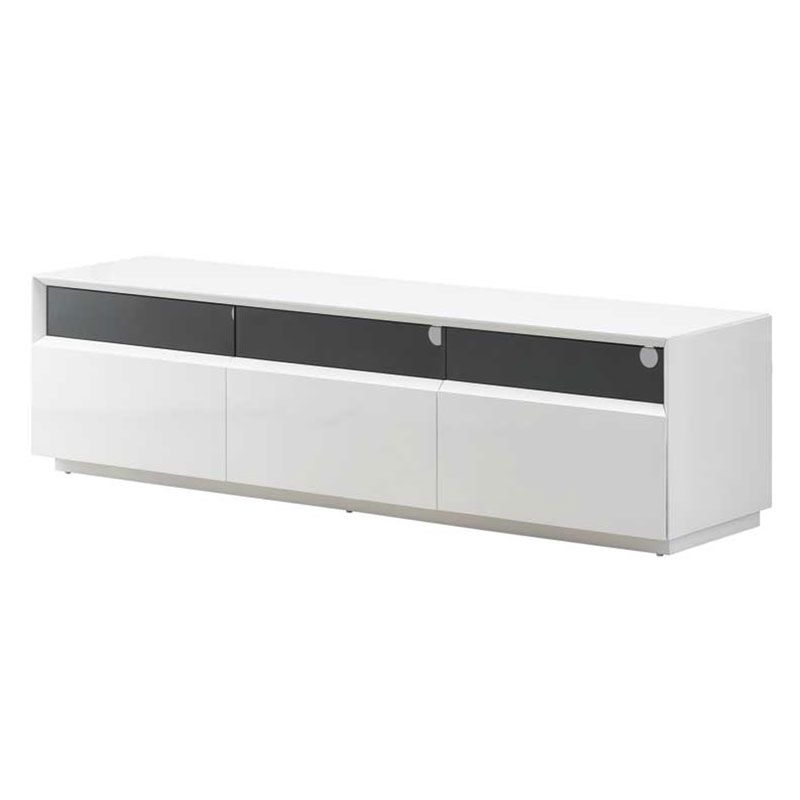 Eurway Furniture Within Most Popular Modern White Lacquer Tv Stands (Gallery 11 of 20)