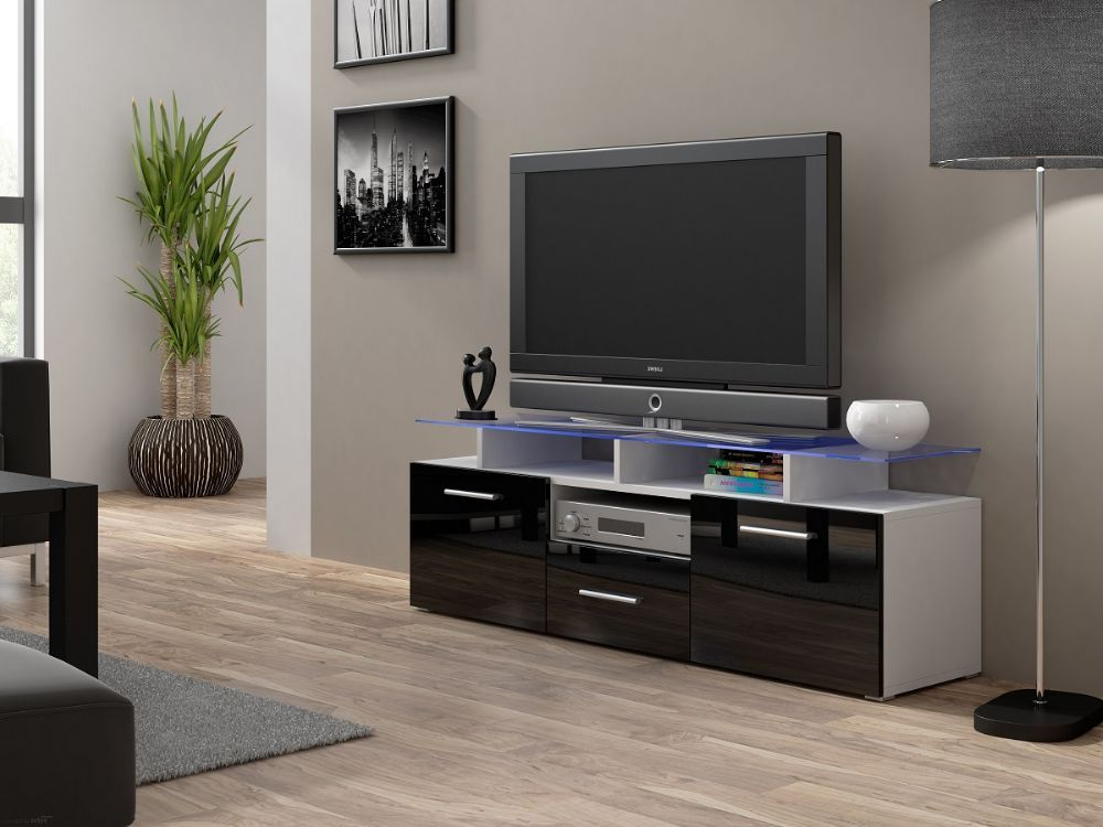 Evora Mini Tv Unit Is A Modern Tv Entertainment Center That Will Add Pertaining To Well Known Unusual Tv Cabinets (View 14 of 20)