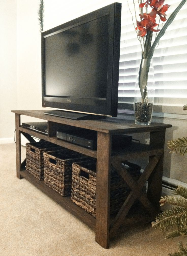 Explore 50+ Ideas With Diy Tv Stand, Diy (Gallery 12 of 20)