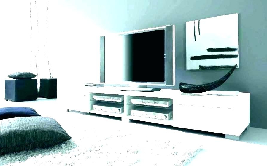 Extra Long Tv Stands Regarding Recent Extra Long White Tv Units Cabinet Gloss Unit Tall Corner Stand Home (View 10 of 20)