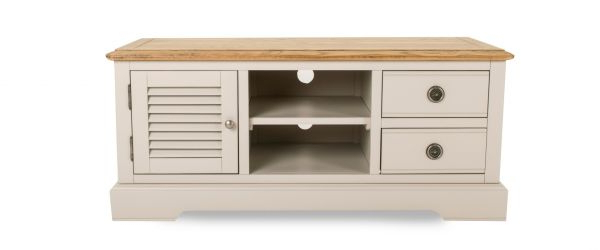 Ez Living With Regard To Cream Tv Cabinets (View 9 of 20)