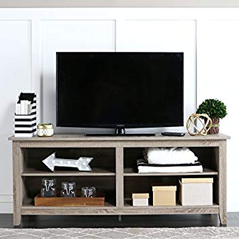 Famous Amazon: Ameriwood Home 1739096 Mercer Tv Console With Inside Casey Grey 54 Inch Tv Stands (View 6 of 20)