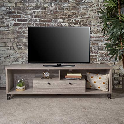 Famous Amazon: Christopher Knight Home 302393 Celine Mid Century Modern Within Rowan 45 Inch Tv Stands (View 6 of 20)