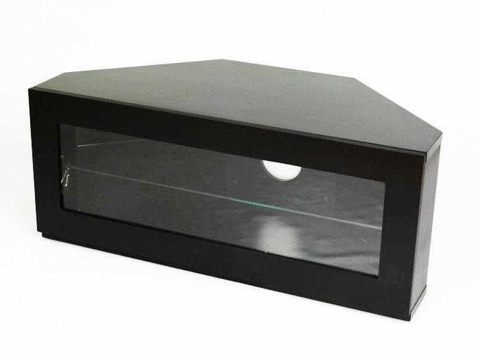 Famous Black Corner Tv Cabinets – Corner Designs Regarding Black Tv Cabinets With Doors (View 11 of 20)