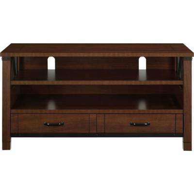 Famous Cherry Tv Stands Pertaining To Cherry – Tv Stands – Living Room Furniture – The Home Depot (View 16 of 20)