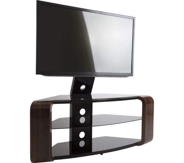 Famous Como Tv Stands Throughout Buy Avf Como Fsl1174Cow Tv Stand With Bracket – Walnut (View 9 of 20)