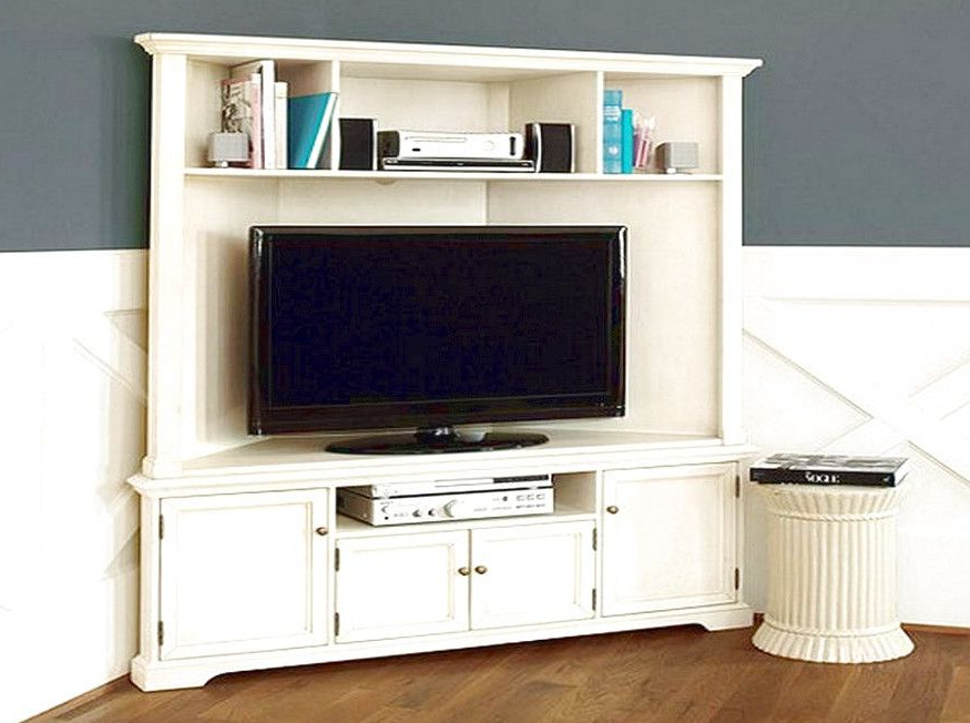 Famous Corner Tv Cabinets Pertaining To Corner Tv Cabinets For Flat Screens With Doors … (View 9 of 20)