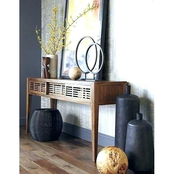 Famous Echelon Console Tables Regarding Crate And Barrel Console Table – Templeofease (View 9 of 20)