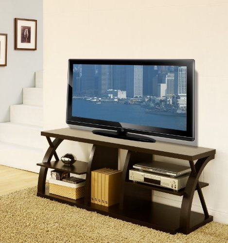 Famous Emilia Modern Espresso 60 Inch Tv Stand (View 1 of 20)