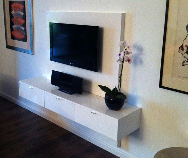 Famous Floating Tv Cabinets Inside Ode Floating Television Units – Mirror Edge Networks (View 15 of 20)