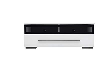 Famous Glass Front Tv Stands Regarding Fever – Tv Cabinet With Glass Front Tv Unit Stand 100Cm (Rtv1S3/10/s (View 4 of 20)