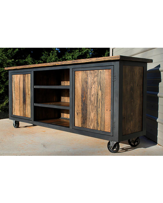 Famous Industrial Tv Cabinets Within Divine Exports With Regard To Industrial Tv Stand Idea 11 Intended (View 3 of 20)