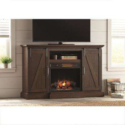 Famous Infrared – Rustic – Fireplace Tv Stands – Electric Fireplaces – The With Regard To Rustic Looking Tv Stands (View 5 of 20)