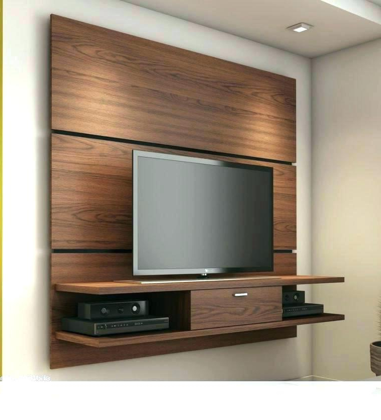 Famous Modern Tv Stands With Mount Pertaining To Tv Stand With Mount Wall Mounted Flat Screen Cabinet With Doors (View 8 of 20)