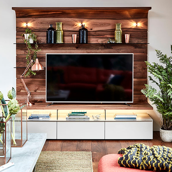 Famous On The Wall Tv Units Pertaining To 6 Stylish Entertainment Centers For A Contemporary Home – Cute (View 15 of 20)