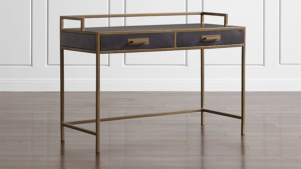 Famous Remi Console Tables Pertaining To Remi Writing Desk + Reviews (View 13 of 20)