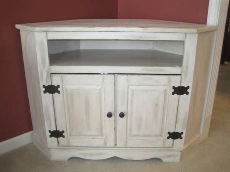 Famous Shabby Chic Tv Cabinets In Shabby Chic Corner Tv Stand – Google Search (View 4 of 20)