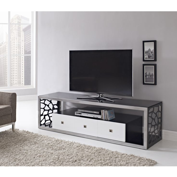 Famous Silver Tv Stands Pertaining To 71 Best Console Tables & Tv Stands Images On Pinterest Modern Tv (View 4 of 20)