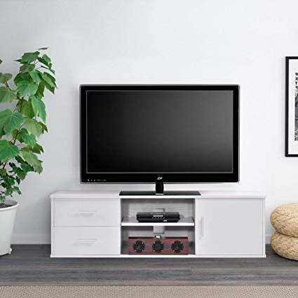 Famous Single Tv Stands With Regard To Amazon: Ej (View 5 of 20)