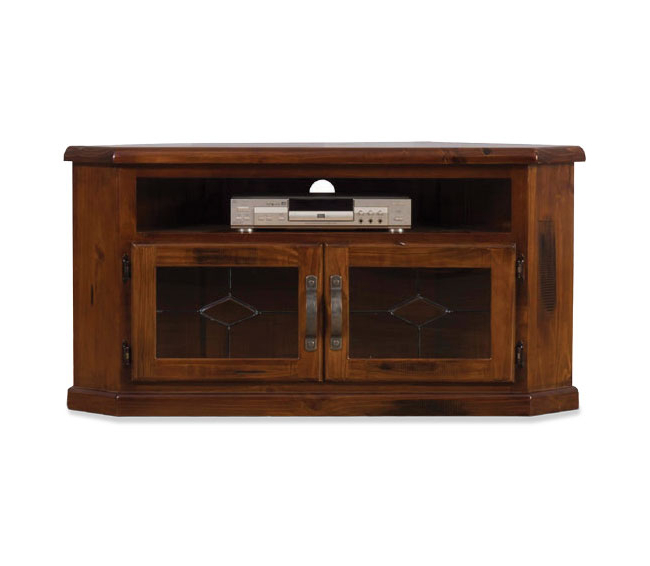 Famous Small Corner Tv Cabinets Pertaining To Fitzroy Small Corner Tv Unit (View 5 of 20)