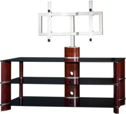 Famous Swivel Tv Stands With Mount For Bush Vs11550a 03 Segments Swivel Plasma Tv Stand With Mounting (View 8 of 20)