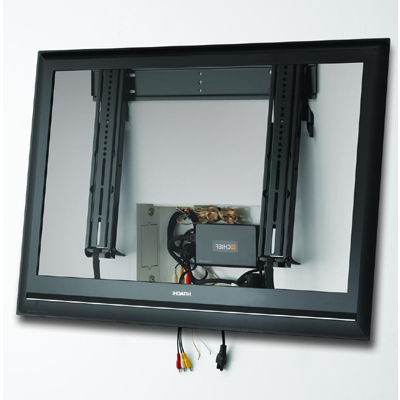 Famous Tilted Wall Mount For Tv Intended For Chief Mttu Medium Thinstall Ultra Thin Tilt Wall Mount (View 18 of 20)