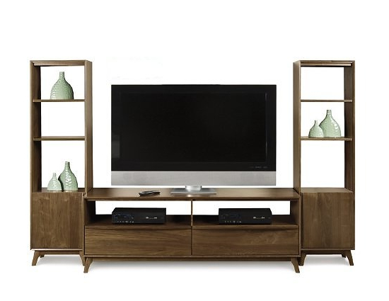 Famous Tv Stands With Bookcases For Copeland Furniture Catalina Tv Stand And Bookcases (View 6 of 20)