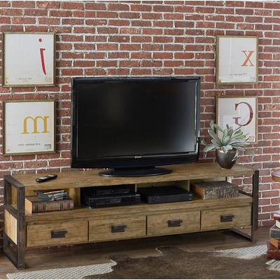 """Famous Walton 72 Inch Tv Stands With Regard To 17 Stories Walton Tv Stand For Tvs Up To 78"""" & Reviews (View 9 of 20)"""
