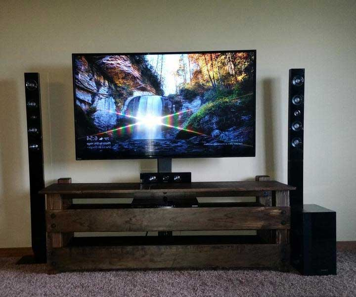 Fancy Tv Cabinets With Regard To 2018 21+ Diy Tv Stand Ideas For Your Weekend Home Project (View 17 of 20)