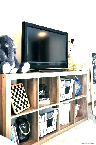 Fantastic Tv Stand Room Divider Cube Organizer Stand Stand With Regarding Recent Tv Stands With Baskets (View 6 of 20)