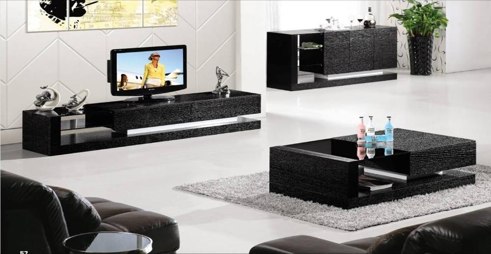 Fascinated Remarkable Lighting Trend And Elegant Coffee Table Tv Regarding Latest Tv Unit And Coffee Table Sets (View 5 of 20)