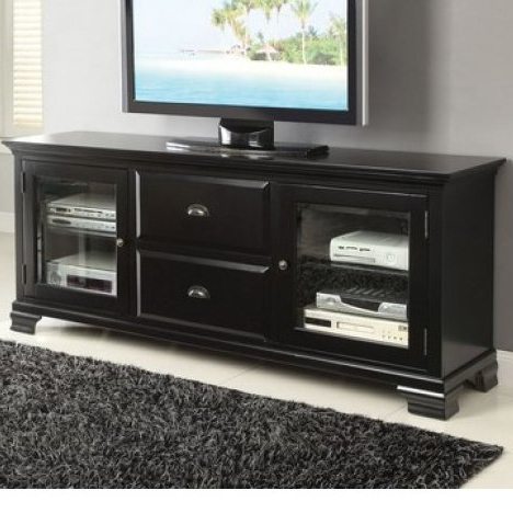 "Fashionable A&j Homes Studio Fancy Tv Stand For Tvs Up To 60"" (View 10 of 20)"