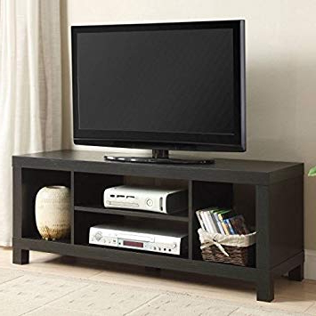 Fashionable Amazon: Small Spaces Tv Stand For Tvs Black Oak: Kitchen & Dining Pertaining To Tv Stands For Small Spaces (View 8 of 20)