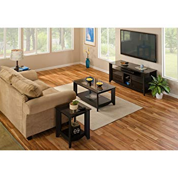 Fashionable Coffee Tables And Tv Stands Intended For Amazon: Aero 56 Inch Tv Stand And Coffee Table With End Tables (View 2 of 20)