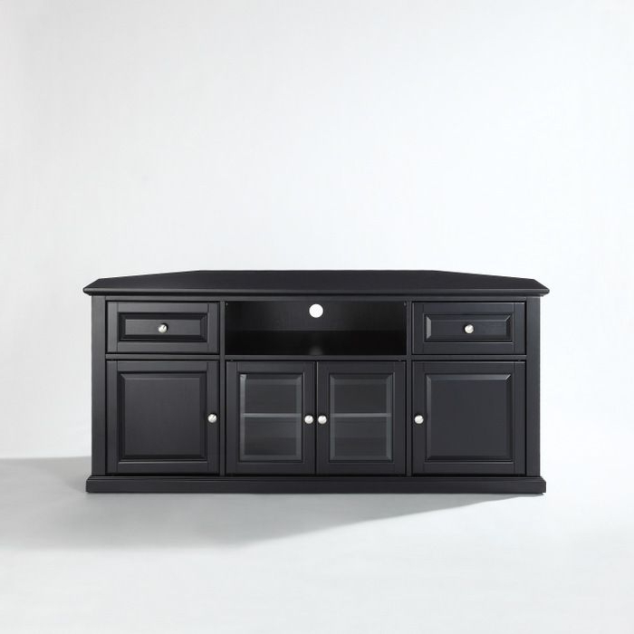 Fashionable Corner 60 Inch Tv Stands In Crosley 60 Inch Corner Tv Cabinet Stand (View 11 of 20)