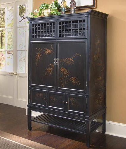 Featured Photo of Enclosed Tv Cabinets With Doors