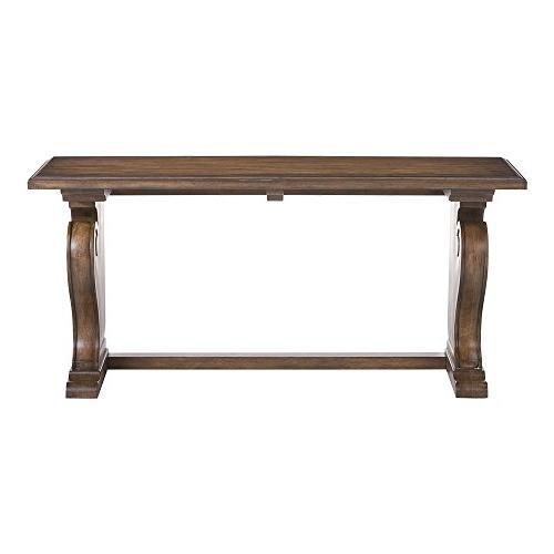 Fashionable Ethan Console Tables Regarding Amazon: Ethan Allen Wayfarer Console Table, Savanna: Kitchen (View 4 of 20)