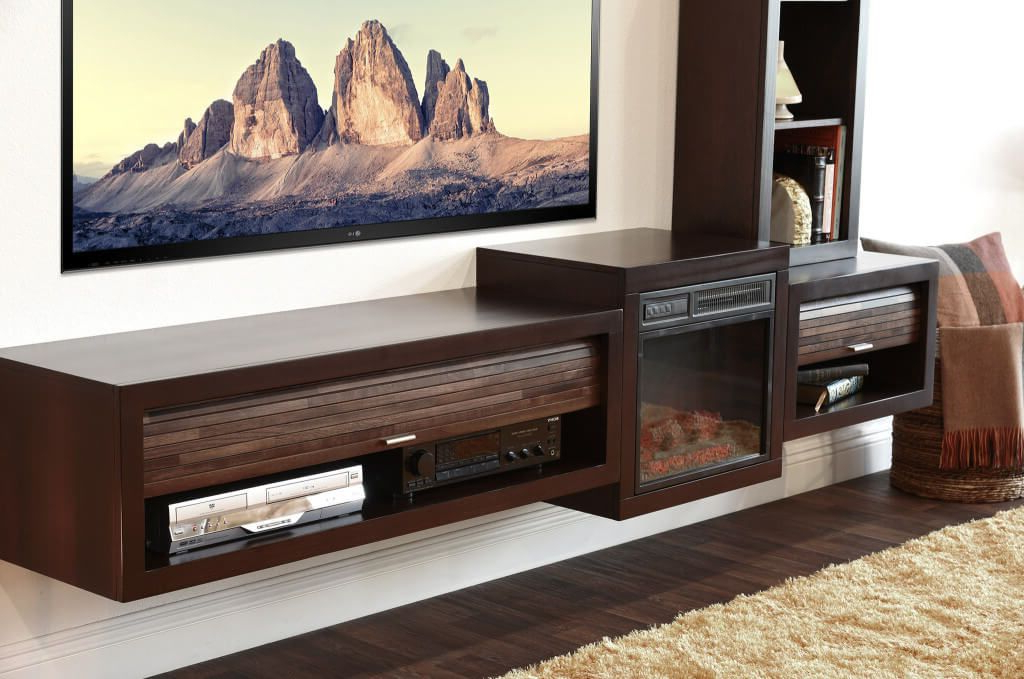 Fashionable Furniture: Inspiring Modern Wall Mounted Floating Tv Stand Featuring Throughout Modern Wall Mount Tv Stands (View 6 of 20)