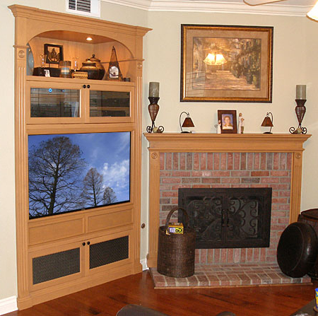 Fashionable How To Retrofit Or Modify Your Old Entertainment Center To With Modern Lcd Tv Cases (View 15 of 20)