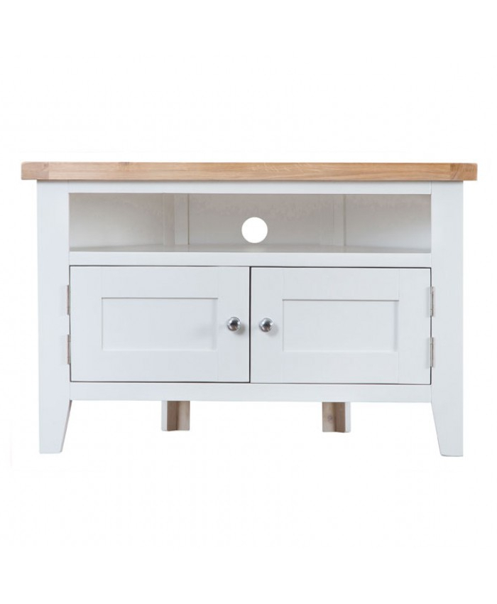 Fashionable Kingsley Interiors Titanic White Oak Corner Tv Unit Tt Ctv W Inside Oak Effect Corner Tv Stand (View 9 of 20)