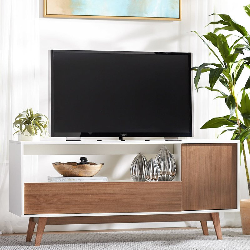 "Fashionable Langley Street Quincy Tv Stand For Tvs Up To 65"" & Reviews (View 4 of 20)"