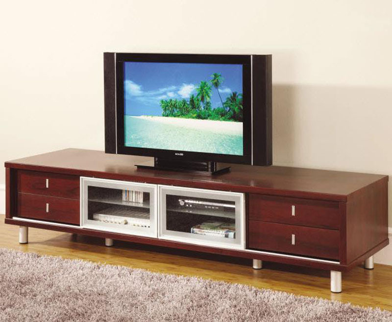 Fashionable Mahogany Color Cabinet – Tv Stand (View 5 of 20)